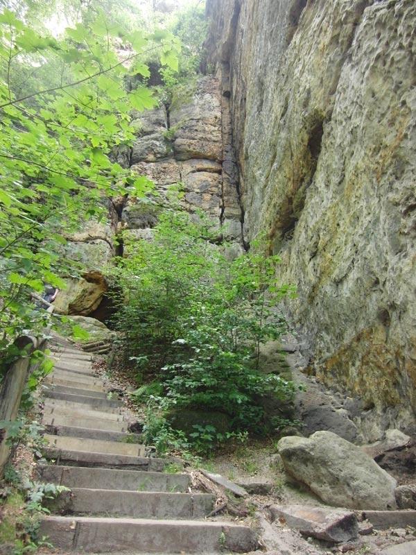 Sächsische Schweiz Stiegen