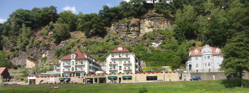Hotel in Rathen an der Elbe